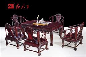 龙凤呈祥茶台